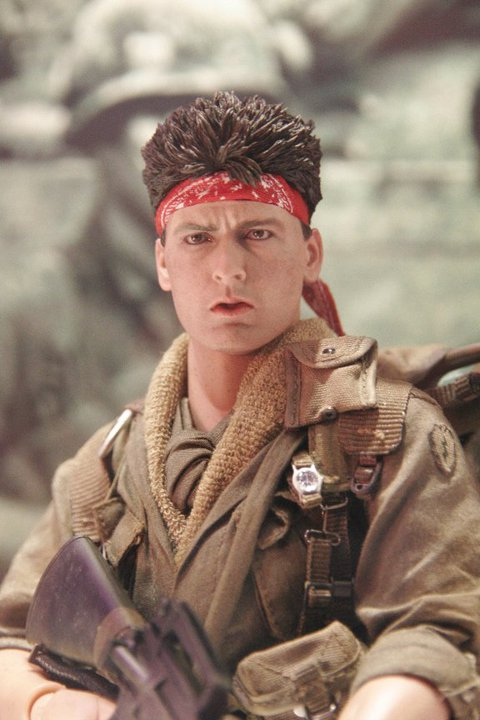 charlie sheen platoon. the Charlie Sheen Platoon