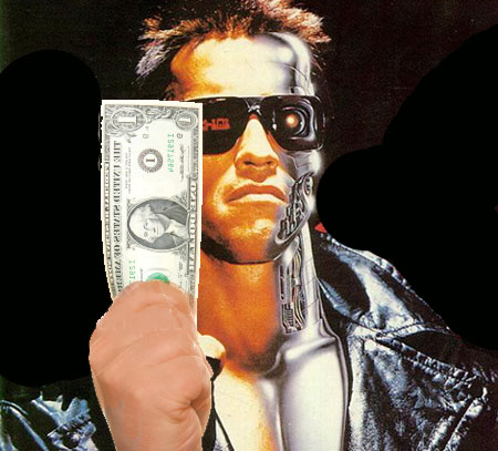 T 1000000 Terminator ... stand Titanic, clunky dialog, the worst racial stereo types and