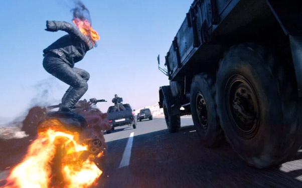 Ghost Rider 2: Spirit Of Vengeance 3D Kiss Ass On The ... Ghost Rider Spirit Of Vengeance Blue Fire