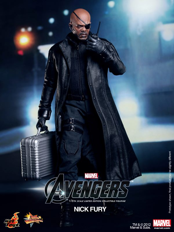 Hot Toys The Avengers NICK FURY Figure 1//6 GLOVED RELAXED HANDS